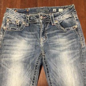 Miss Me jeans 28 inseam 31